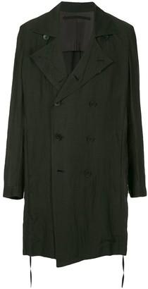 Julius oversized double-breasted coat