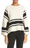 Derek Lam 10 Crosby Women's Stripe Wool Sweater