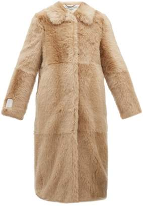 Stella McCartney Alter Faux Fur Coat - Womens - Beige