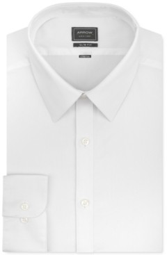 Arrow Men's Slim-Fit Stretch Dress Shirt