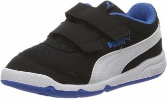 Puma Kids' Stepfleex 2 Mesh Ve V Inf Sneakers Black Black White/Palace Blue 10 26 EU 8.5UK
