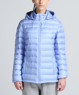 Lavender Blue 3.0 Down Insulated Hooded Puffer Coat - Women