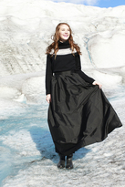 Shabby Apple First Snow Black Skirt