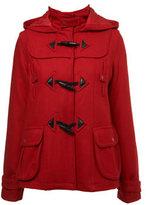 Red Short Duffle Coat