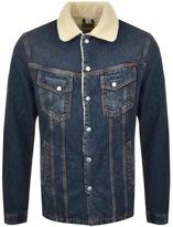 Nudie Jeans Lenny Denim Jacket Blue