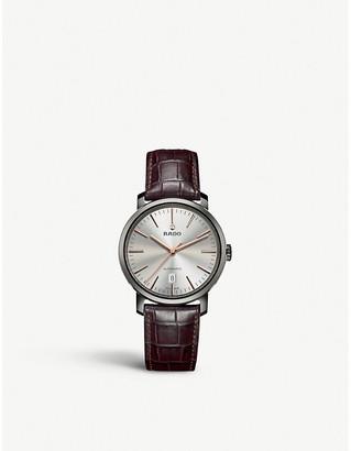 Rado R14074106 Diamaster plasma high-tech ceramic watch