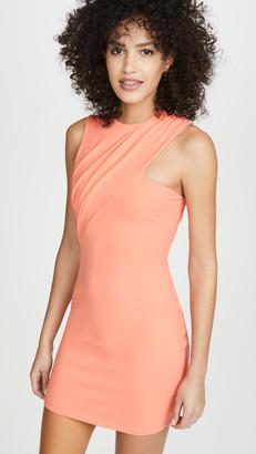 Susana Monaco Sleeveless Gathered Crossover Dress