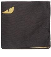 Fendi Bag Bugs Silk Pocket Square