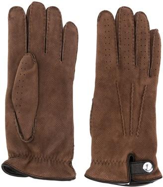 Brunello Cucinelli Embroidered Gloves