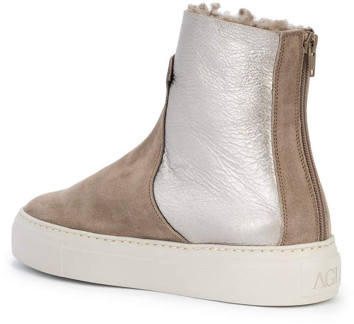 AGL metallic panel boots