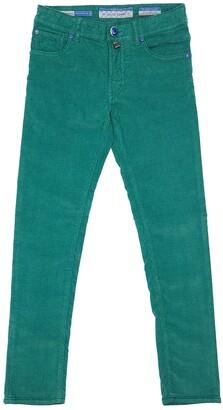 Jacob Cohen Slim Cotton Blend Corduroy Pants