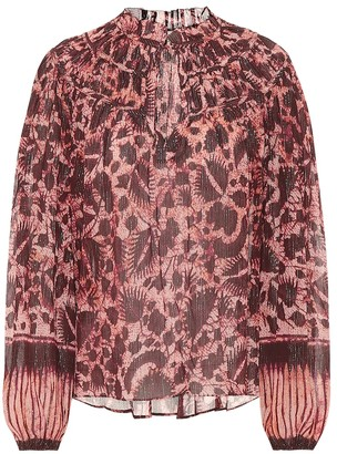 Ulla Johnson Yulia cotton-blend blouse