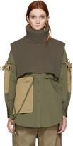 Ports 1961 Green Wool Turtleneck Collar