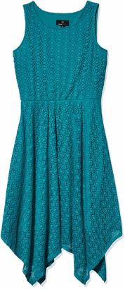 Ronni Nicole Women's Alternative Hem lace