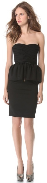 DSquared Dsquared2 Strapless Dress