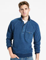 Lucky Brand Indigo Button Pullover