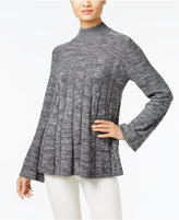 Style&Co. Style & Co. Mock-Neck Swing Sweater, Only at Macy's