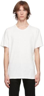 Rag & Bone White Classic Flame T-Shirt