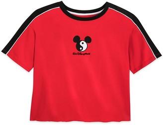Disney Mickey Mouse Icon Yin and Yang Fashion T-Shirt for Women Walt World