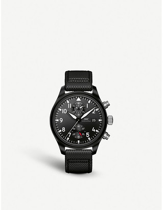 IWC IW389001 pilot top gun ceramic watch