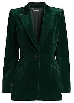 Elie Tahari Women's Madison Stretch-Velvet Jacket