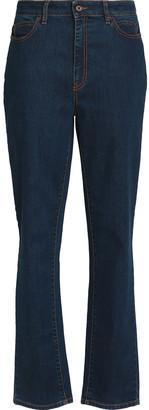 Just Cavalli High-rise Straight-leg Jeans