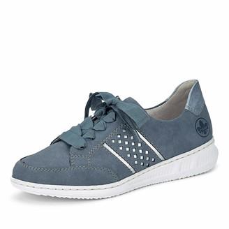 Rieker Women's Fruhjahr/Sommer N3124 Low-Top Sneakers