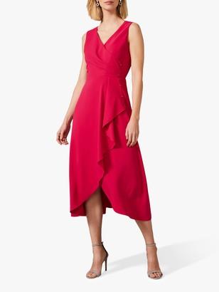 Phase Eight Mylah Button Dress, Lipstick