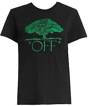 Off-White Women's Off Tree Casual Tee
