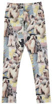 Molo Niki Dogtastic Jersey Stretch Leggings, Size 2-10