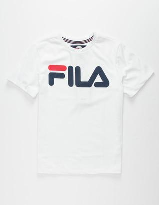 Fila Basic Logo Boys T-Shirt