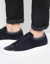 Hugo By Hugo Boss Casual Toe Cap Trainers