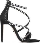 Carvela Grass studded suedette sandals