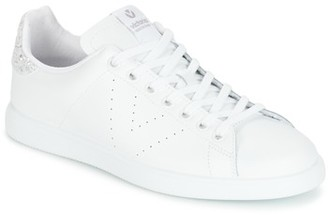 Victoria DEPORTIVO BASKET PIEL women's Shoes (Trainers) in White