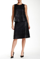 Zac Posen Taylor Leather Skirt