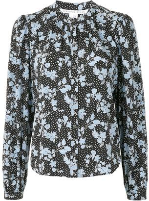 Veronica Beard Ashlynn floral-print shirt