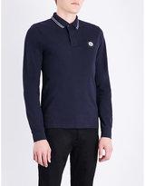 Stone Island Slim-fit Stretch-cotton Polo Shirt