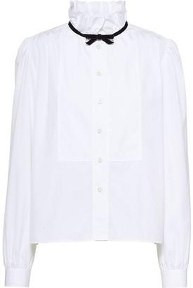 Miu Miu tied neck blouse