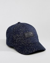 Artsac Workshop Speckle Curved Peak Cap