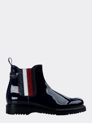 Tommy Hilfiger Colour-Blocked Booties