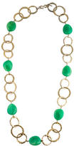 Kenneth Jay Lane Chain Link Beaded Necklace