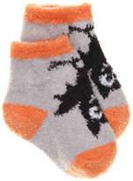 Mud Pie Girls Bat Infant Ankle Socks -Grey