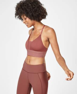 Sweaty Betty Chaturanga Disco Foil Yoga Bra