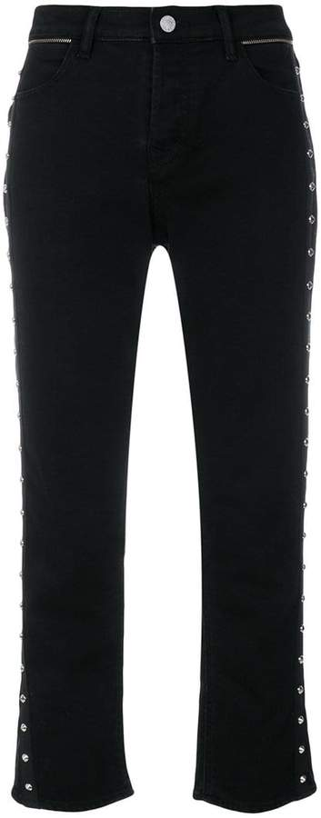 Zadig & Voltaire studded cropped trousers