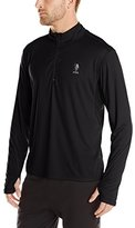 U.S. Polo Assn. Men's Performance 1/2 Zip Mock Neck Top
