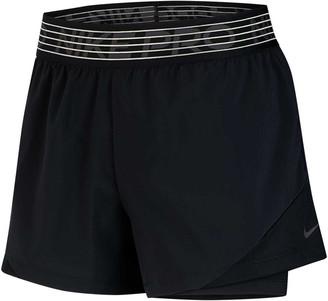 Nike Womens Pro Flex 2 In 1 Shorts