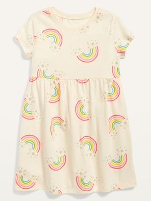 Old Navy Fit & Flare Short-Sleeve Jersey Dress for Toddler Girls
