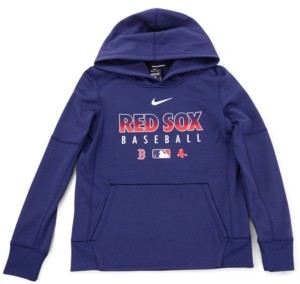 Nike Youth Boston Red Sox Therma Fleece Hoodie