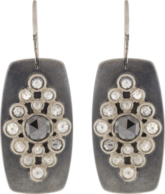 Todd Reed Rose Cut Diamond Earrings