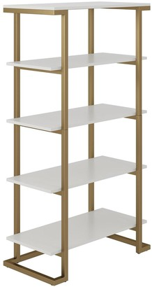 Cosmoliving Camila Bookcase -White